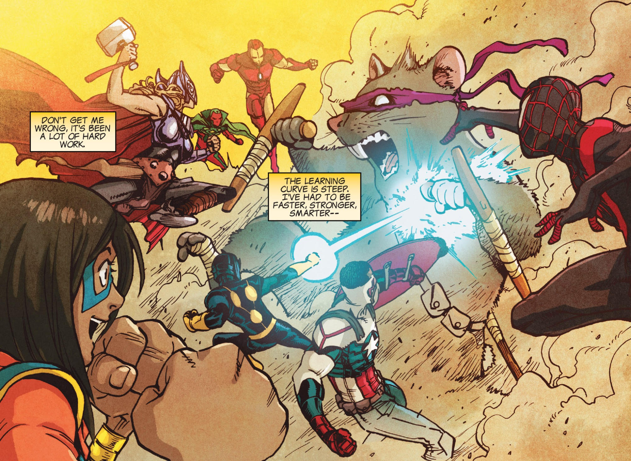 Ms Marvel #1 Review