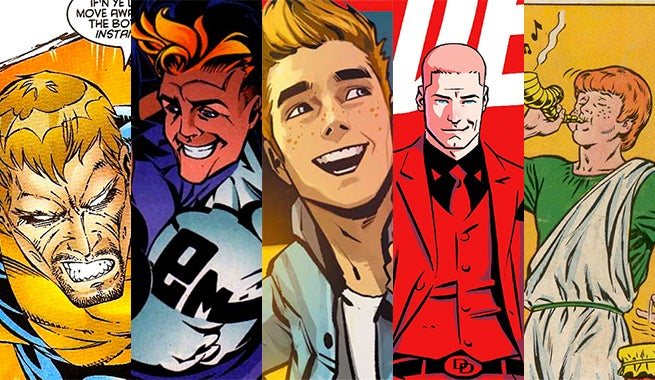 The Top Redheaded Guys in Comics