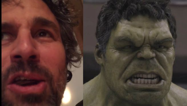 Hulk Actor Mark Ruffalo Told His Kids He Ate All Their Halloween Candy