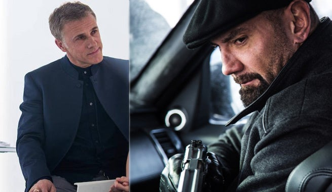 Dave Bautista Learned Specific Lesson from Christoph Waltz During Spectre Filming