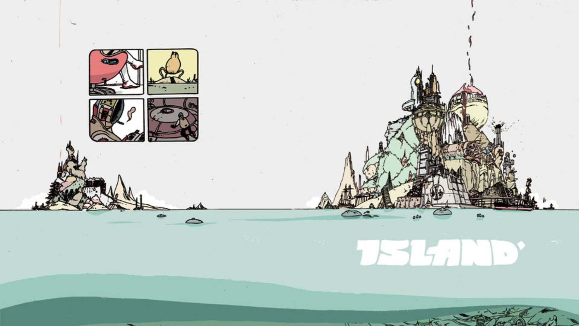 10 Best Comics of 2015 - Island