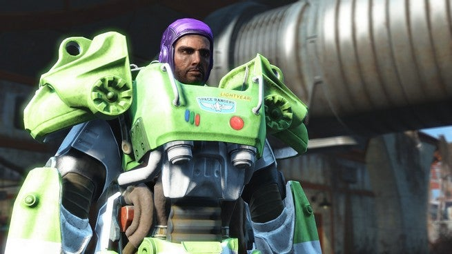 Mod Brings Buzz Lightyear To Fallout 4's Wasteland And Beyond