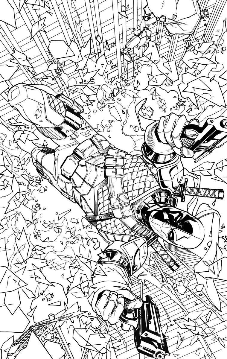 comic book coloring pages free - photo#10