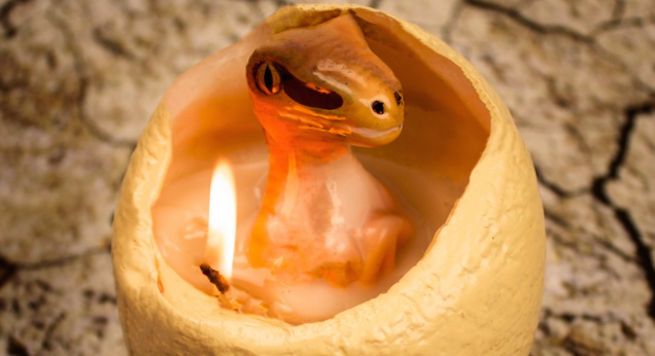 Hatch A Dinosaur When You Light This Candle