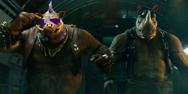 Teenage Mutant Ninja Turtles: Out Of The Shadows First HD Look At Bebop And Rocksteady