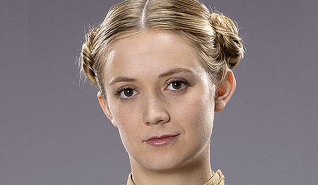 Carrie Fishers Daughter Has Princess Leias Hairstyle In Star Wars