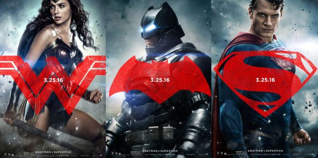 Batman V Superman Dawn Of Justice Character Posters Revealed