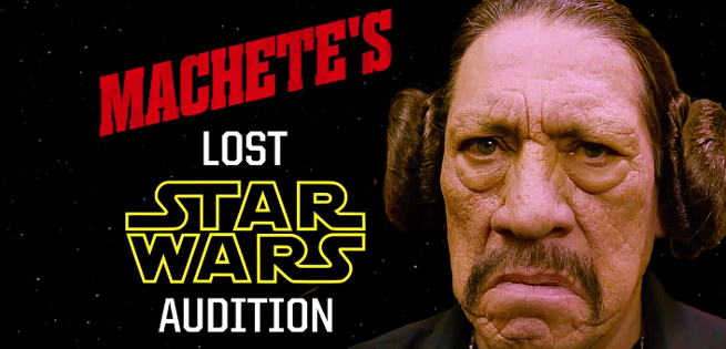 9fdddd7e40b0c Danny Trejo's Lost Star Wars Audition Tape Surfaces