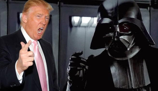 Donald Trump As Darth Vader Is Too Perfect