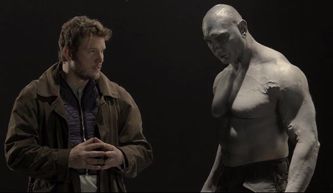 Watch Chris Pratt And Dave Bautista Audition For Guardians Of The Galaxy