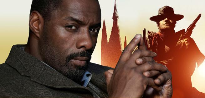 Idris Elba Appears as The Gunslinger on The Dark Tower Set