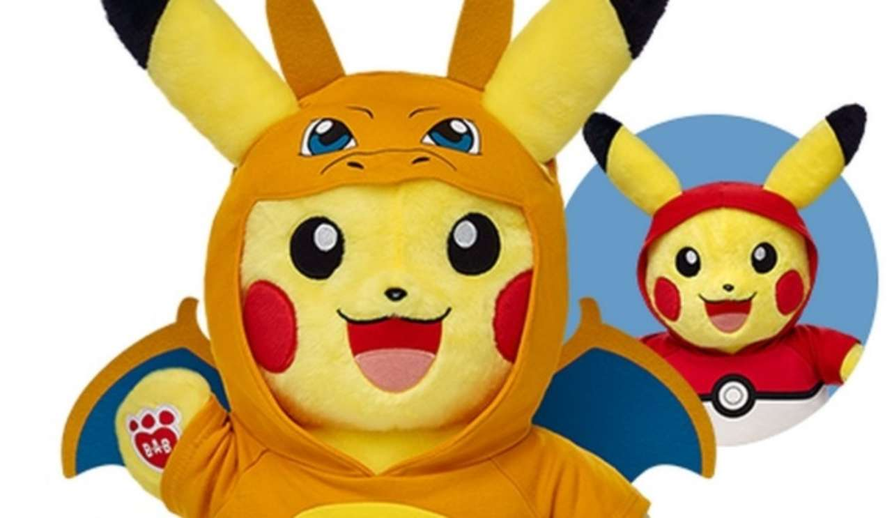 build a bear pikachu images and details released