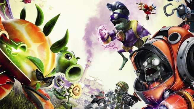 Plants Vs Zombies Garden Warfare 2 Backyard Battleground Gameplay Revealed
