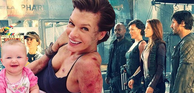 Resident Evil The Final Chapter Cast On Reclaiming: Resident Evil: The Final Chapter Wraps Filming