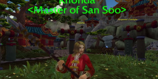 Ronda Rousey in World of Warcraft