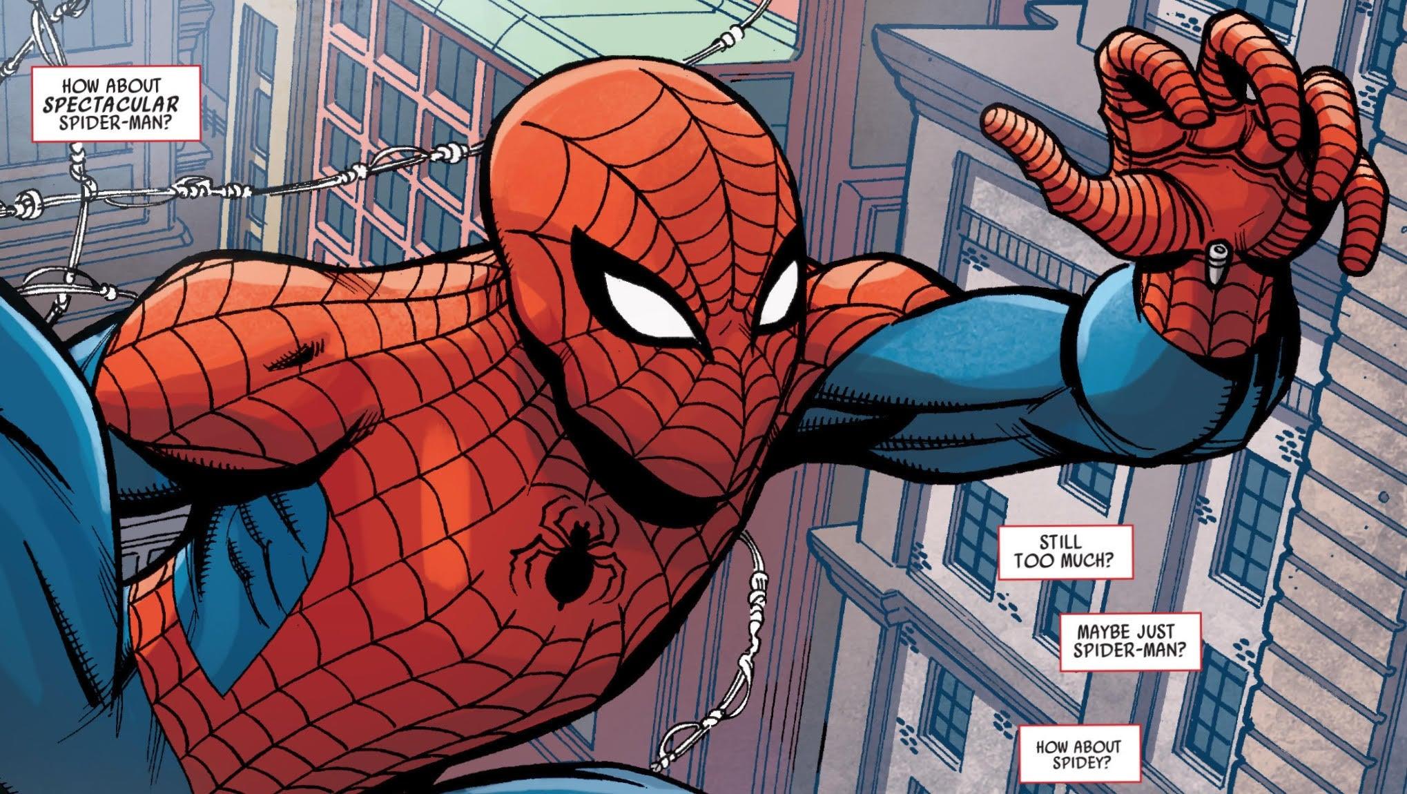 Spidey #1 Web Slinging