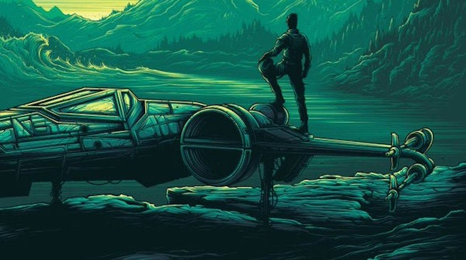 New Star Wars: The Force Awakens IMAX Poster Revealed