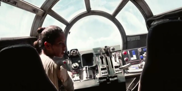 tour the millennium falcon cockpit in new facebook 360 video. Black Bedroom Furniture Sets. Home Design Ideas