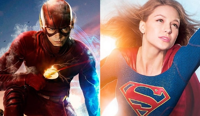 the flash supergirl