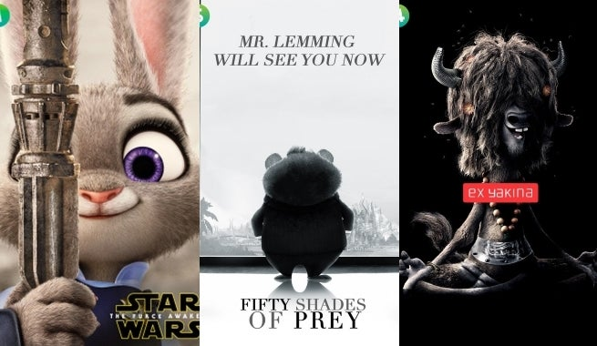zootopia parody movie posters released