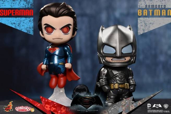 BvS: DoJ Armored Batman & Superman Cosbaby