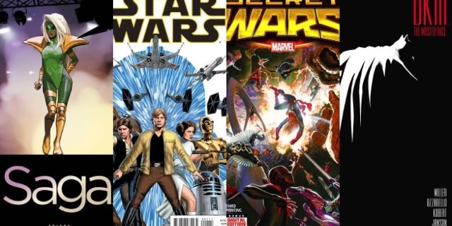 Comic Book Sales 2015