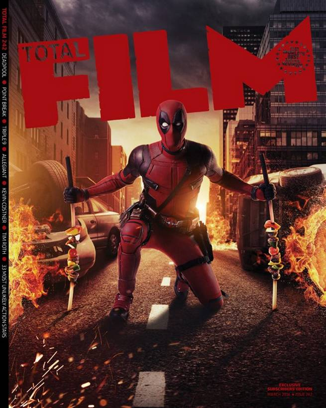 Deadpool Total Film Sub Cover