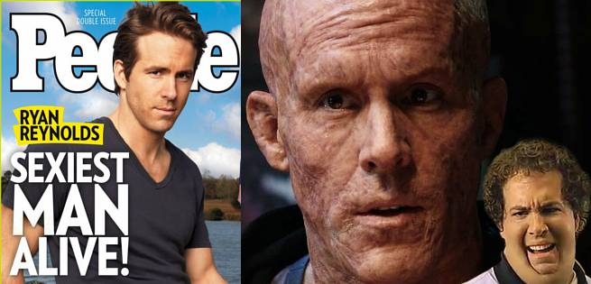 Deadpool Reads People Magazine With Ryan Reynolds As ...
