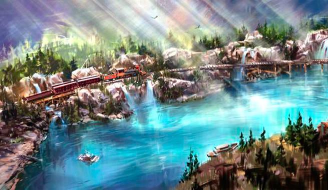 New Disneyland Concept Art Reveals How Star Wars Land