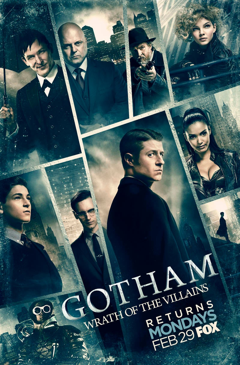 Darrow >> New Gotham Wrath Of The Villains Poster Released