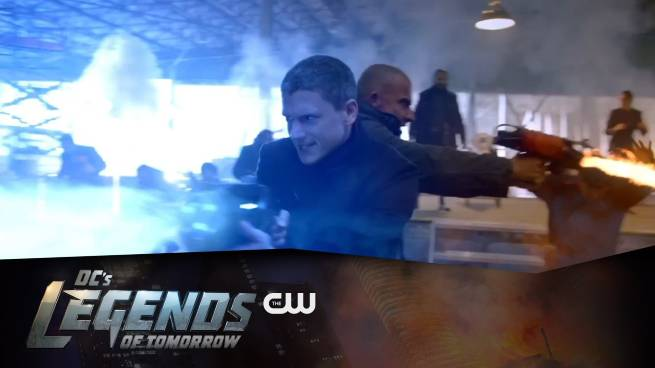 Legends of Tomorrow interview