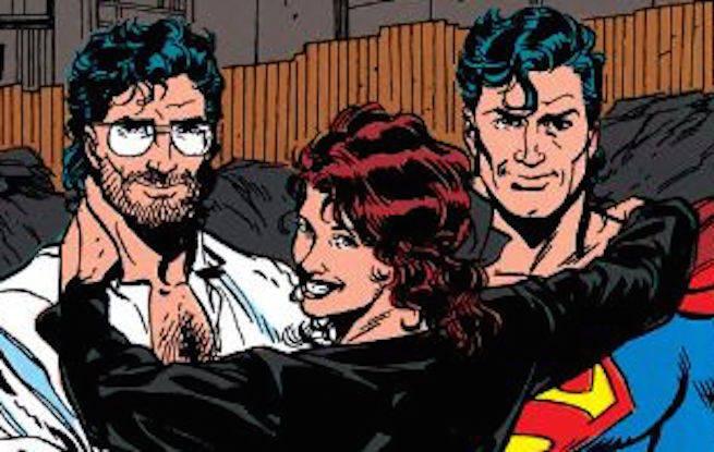 Matrix-Supergirl-Clark-Kent