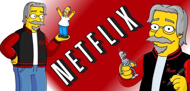 Simpsons Netflix