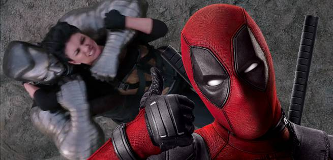 X-Men\'s Colossus Vs. Gina Carano In New Deadpool TV Spot