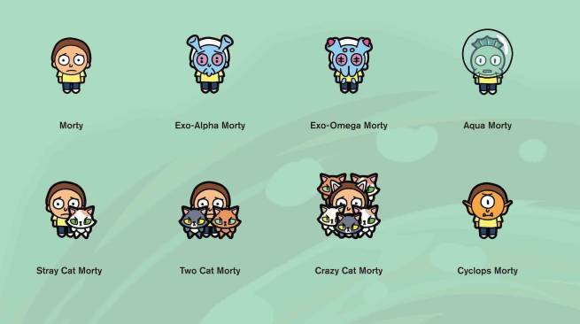 See All 52 Mortys in Rick and Morty: Pocket Mortys