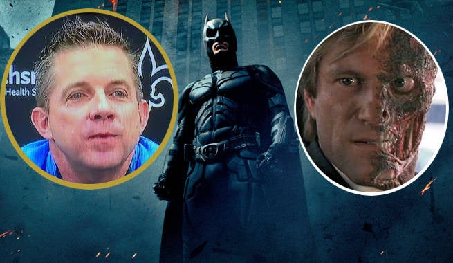 New Orleans Saints Head Coach Quotes The Dark Knight In Press Conference