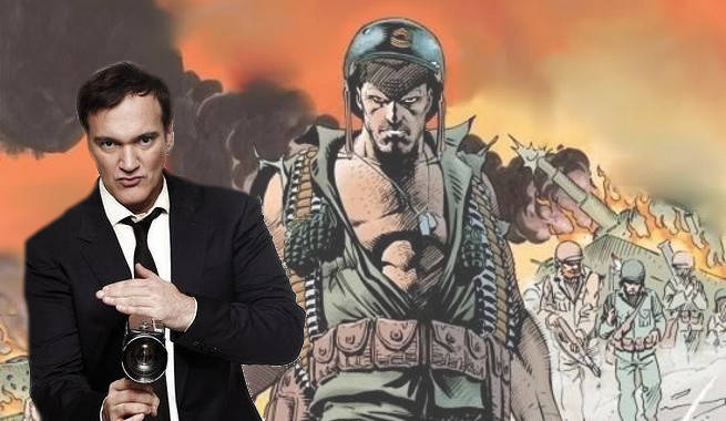 Quentin Tarantino Considered Directing A Sgt. Rock Movie