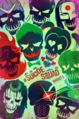 Suicide Squad movie poster image