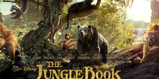Movie – Jungle Book 3D, Sept. 6 @ 1:00