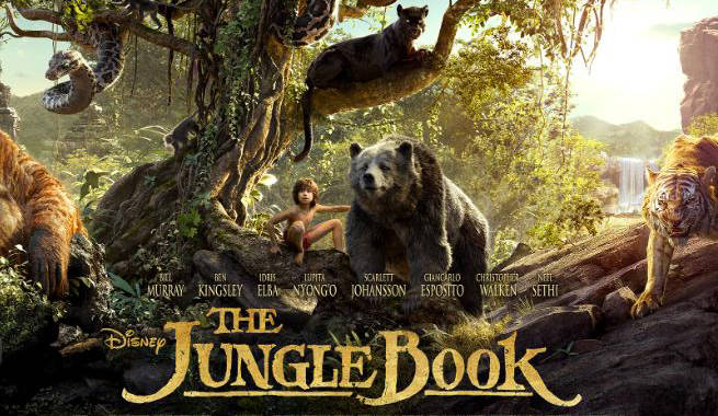 Movies 2016 Posters: Disney Releases New The Jungle Book Poster