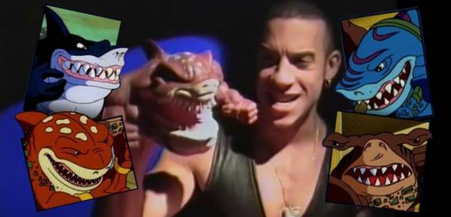 Street Sharks Toys : Fintastic video surfaces of vin diesel pitching street
