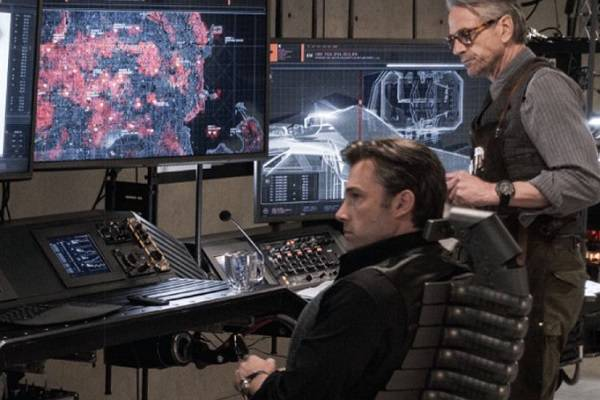 Image result for batman computer batman v superman