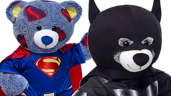 & Build A Bear Workshop Announces New Batman u0026 Superman Product