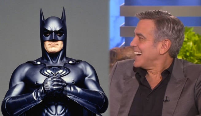 George Clooney Pokes Fun At His Time As Batman