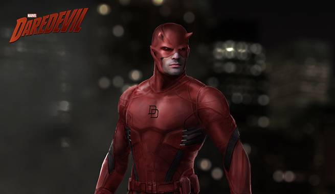 Dardevil Costume Design