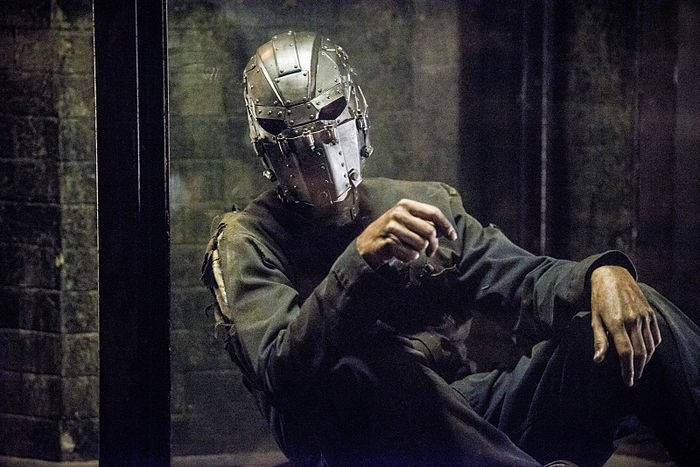 The mysterious masked man in The Flash