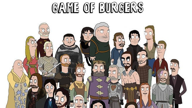 Game Of Thrones Gets A Bob's Burgers Makeover
