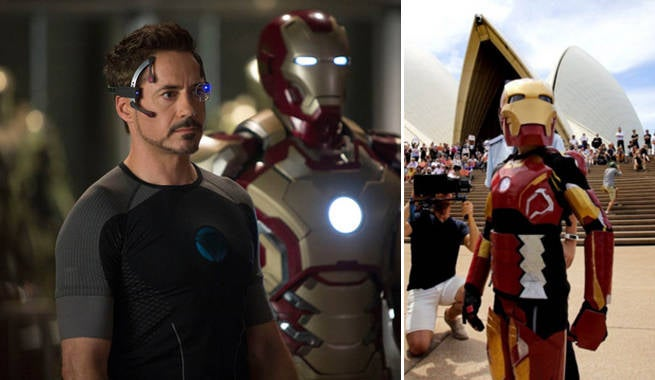Robert Downey Jr. Makes Kid With Cystic Fibrosis An Honorary Member Of The Avengers