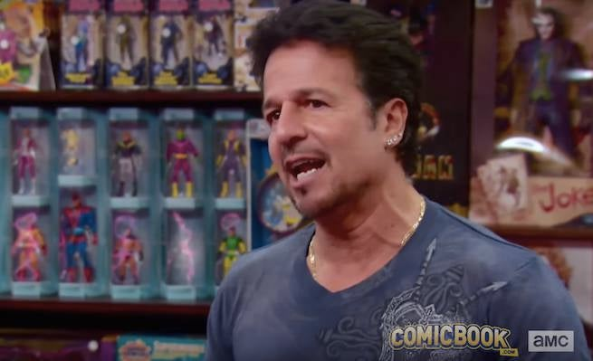 Exclusive Clip: Legendary Comics Artist John Romita, Jr. Comes to Comic Book Men!