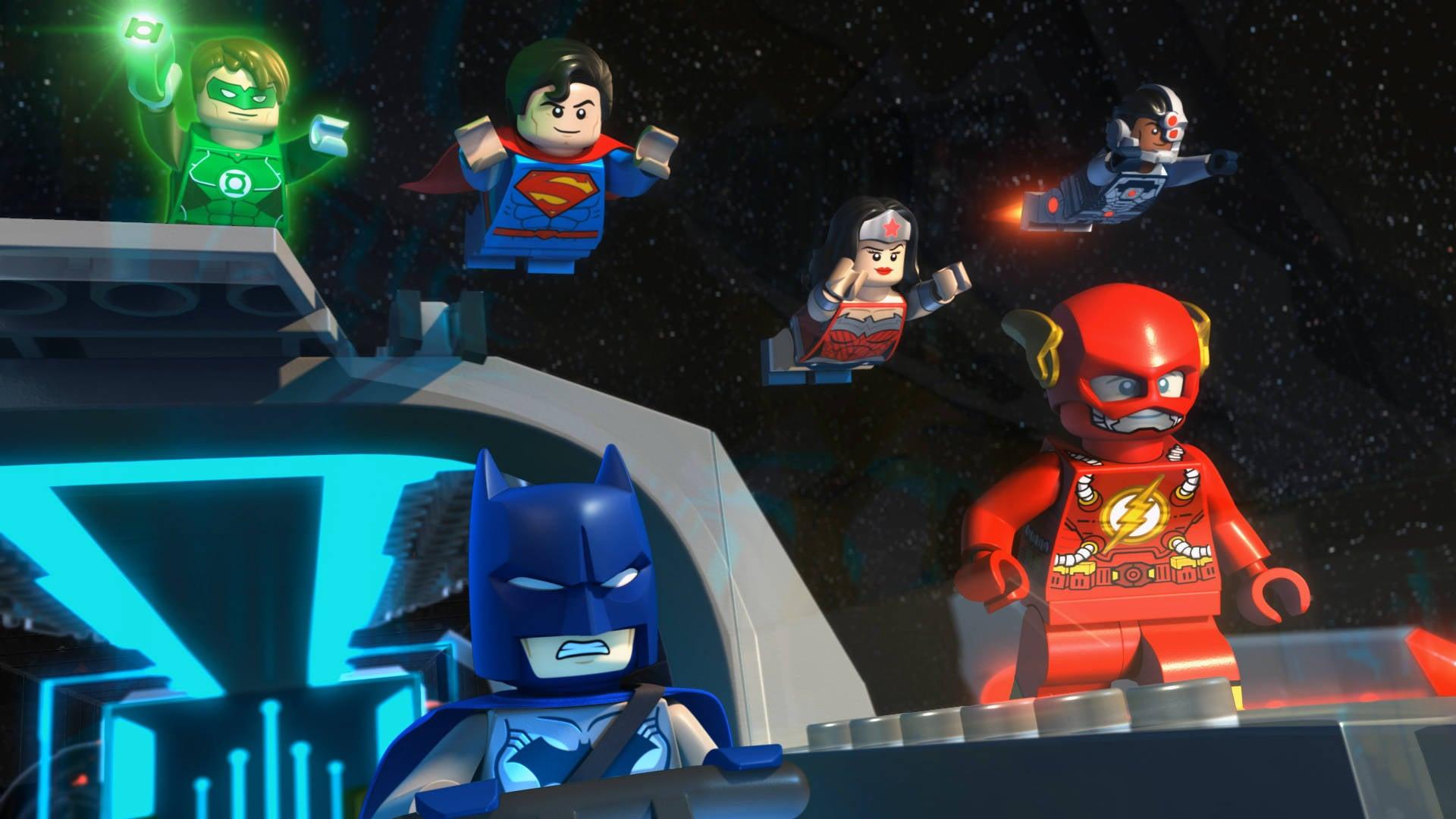 Exclusive Lego Justice League Cosmic Clash Clip Brings